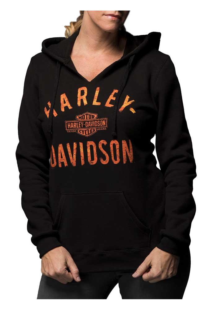 fc39e79105 ... Harley-Davidson Women s Virtually Unstoppable Split Neck Pullover  Fleece. See 1 more picture