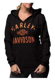 7281c2496bc9f Harley-Davidson® Women s Virtually Unstoppable Split Neck Pullover Fleece  Hoodie