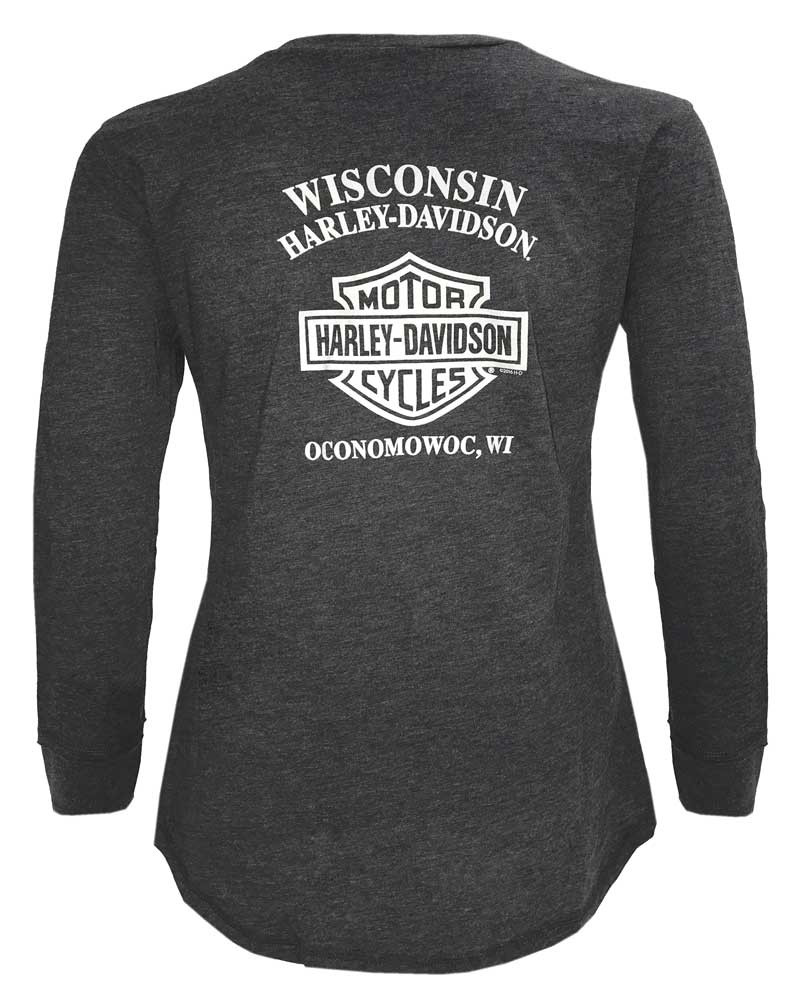 3bd738f4560c ... Harley-Davidson Women's Burning Fearless V-Neck Long. See 1 more picture