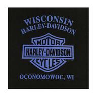 Harley-Davidson Little Boy's Approaching Icon Short Sleeve Crew Tee, Black - Wisconsin Harley-Davidson