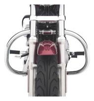 Harley-Davidson Engine Guard Kit - Chrome, Fits 04-later XL & XR Models 49060-04 - Wisconsin Harley-Davidson