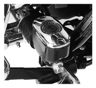 Harley-Davidson Chrome Rear Master Cylinder Cover,Dyna/Softail/Touring 46425-05A - Wisconsin Harley-Davidson