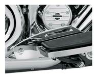 Harley-Davidson Rider Footboard Heel Guard - Chrome, Multi-Fit Item 50500225 - Wisconsin Harley-Davidson