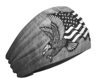 That's A Wrap Unisex Patriotic Eagle Performance Knotty Band - Brown KB2615 - Wisconsin Harley-Davidson