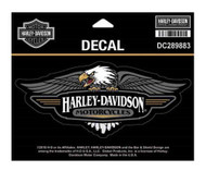 Harley-Davidson Vintage Eagle Logo Decal, MD Size - 6 x 2.5 inches DC289883 - Wisconsin Harley-Davidson