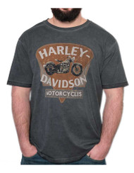Harley-Davidson Men's Integral Bike Premium Short Sleeve T-Shirt, Cold Steel - Wisconsin Harley-Davidson