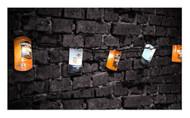 Harley-Davidson Oil Can String Party Lights - 10 ft. Orange & White HDL-10018 - Wisconsin Harley-Davidson
