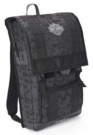 Harley-Davidson 24/7 Nightvision Multi-Functional Backpack, Black 99217 - Wisconsin Harley-Davidson