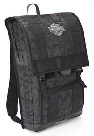 Harley-Davidson 24/7 Nightvision Multi-Functional Backpack, Black 99217 - Wisconsin Harley-Davidson