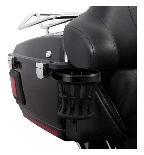 Ciro Black Rubber Drink Holders for Harley-Davidson - Multiple Sizes & Mounts - Wisconsin Harley-Davidson