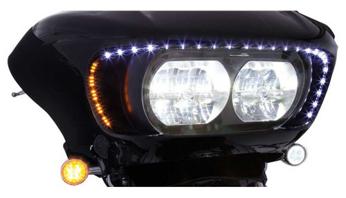 Ciro '15-up H-D Road Glide LED Lighted Road Blades - Sold in Pair 45103 - Wisconsin Harley-Davidson