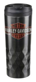 Harley-Davidson Core Trademark Logo Stainless Steel Travel Mug HDX-98612 - Wisconsin Harley-Davidson