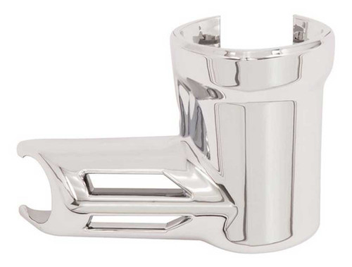 Ciro Fuel Fitting Cover, Fits '17-up H-D Touring Models - Chrome Finish 73025 - Wisconsin Harley-Davidson