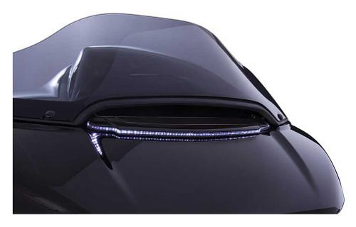 Ciro Lighted LED Vent Trim, Fits H-D Road Glide Models - Chrome or Black Finish - Wisconsin Harley-Davidson