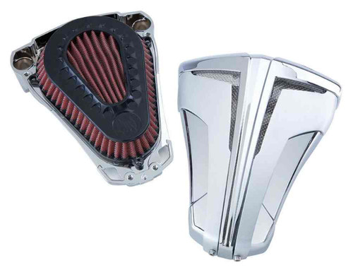 Ciro Cipher Air Cleaner, Available in 4 Finishes, Fits 08-16 H-D Touring Models - Wisconsin Harley-Davidson