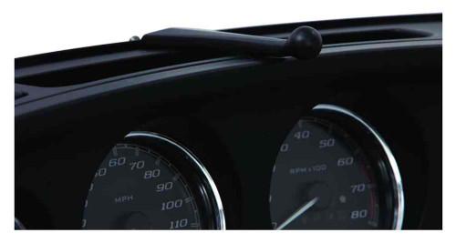 Ciro Accessory Fairing Mount, Fits H-D Touring '14 FLHT - Black Finish 50117 - Wisconsin Harley-Davidson