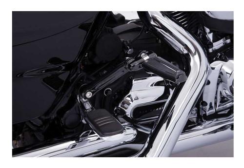 Ciro Adjustable Passenger Comfort Peg Mounts - Multi-Fit Item, Chrome or Black - Wisconsin Harley-Davidson