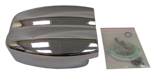 Cycle Visions Mo-Flow Billet Air Cleaner, Chrome Plated Aluminum 1010-0270 - Wisconsin Harley-Davidson