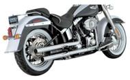 Vance & Hines Straight Shots Slip-On Mufflers, Fits H-D Softail Models 1801-0260 - Wisconsin Harley-Davidson