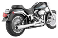 Vance & Hines Pro Pipe, Fits 86-11 Softail - Chrome Finish 1800-1206 - Wisconsin Harley-Davidson