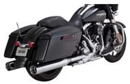 Vance & Hines Oversized 450 4.5 in. Slip-On Mufflers, H-D Glide Models 1801-0749 - Wisconsin Harley-Davidson