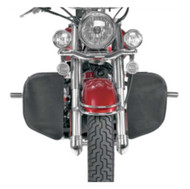 Hopnel Engine Guard Covers with 2 Pouches, For Harley-Davidson 1624-0144 - Wisconsin Harley-Davidson