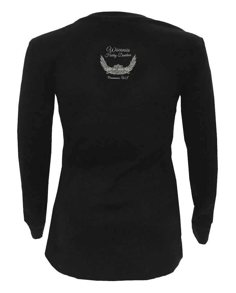 e4a766d44809 ... Harley-Davidson Women's Embellished H-D Spellbound Long Sleeve Shirt.  See 1 more picture