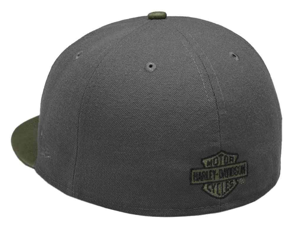 ... Harley-Davidson Men s Embroidered 59FIFTY Baseball Cap b1373d1d5012