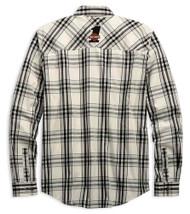 Harley-Davidson Men's H-D Racing Long Sleeve Plaid Woven Shirt 99162-19VM - Wisconsin Harley-Davidson