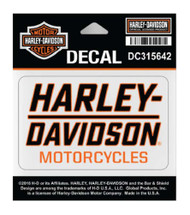 Harley-Davidson Traction H-D Decal, SM Size - 3.75 x 2.1875 in. DC315642 - Wisconsin Harley-Davidson