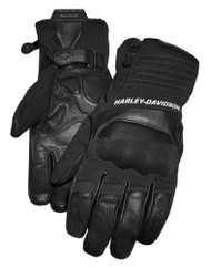 Harley-Davidson Men's FXRG Dual Chamber Full-Finger Gauntlet Gloves 98273-19VM - Wisconsin Harley-Davidson