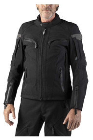 Harley-Davidson Men's FXRG Triple Vent Waterproof Riding Jacket, 98261-19VM - Wisconsin Harley-Davidson