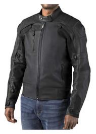 Harley-Davidson Men's FXRG Gratify Slim Coolcore Leather Jacket 98051-19VM - Wisconsin Harley-Davidson