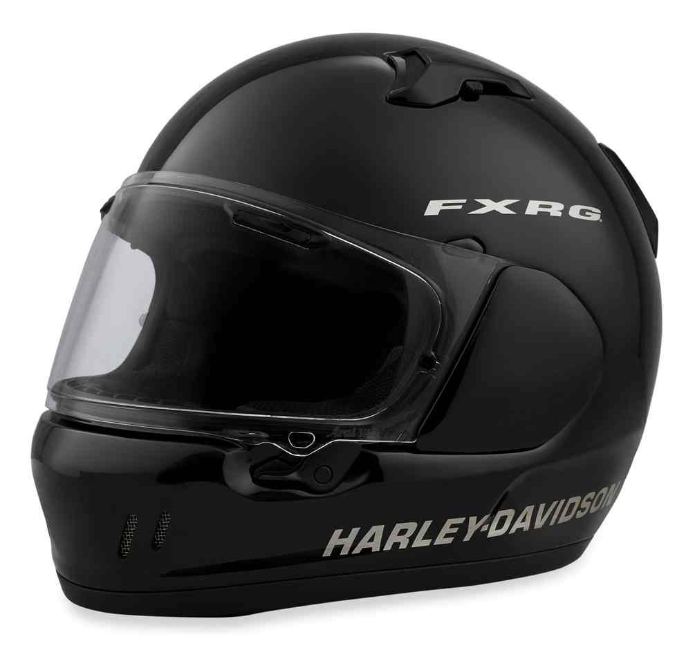 b5a91240 Harley-Davidson Men's FXRG Defiant-X Full-Face Helmet, Gloss Black 98257.  See 2 more pictures
