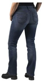 Harley-Davidson Women's FXRG Armalith Denim Mid-Rise Jeans, Indigo 98268-19VW - Wisconsin Harley-Davidson