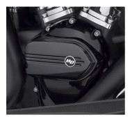 Harley-Davidson Defiance Cam Cover, Black Anodized, Softail & Touring 25700710 - Wisconsin Harley-Davidson