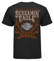 bb3ee49f Harley-Davidson® Mens Screamin' Eagle Adventure Short Sleeve Tee HARLMT0287