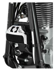 Harley-Davidson Chrome Voltage Regulator Cover, Fits 06-12 Dyna Models 74667-06 - Wisconsin Harley-Davidson