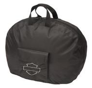 Harley-Davidson Bar & Shield Half Helmet Carry Bag - Black 99427-MIDNIGHT - Wisconsin Harley-Davidson