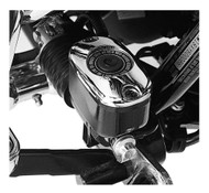 Harley-Davidson Chrome Rear Master Cylinder Cover, Softail & Touring 45149-99C - Wisconsin Harley-Davidson