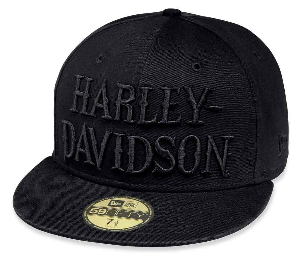 Harley-Davidson® Men s Embroidered 59FIFTY Fitted Cap c6fd97be65df