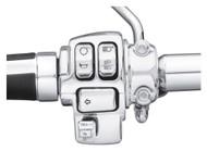 Harley-Davidson Chrome Switch Cap Kit, Fits XL/Dyna/Softail Models 71500441 - Wisconsin Harley-Davidson