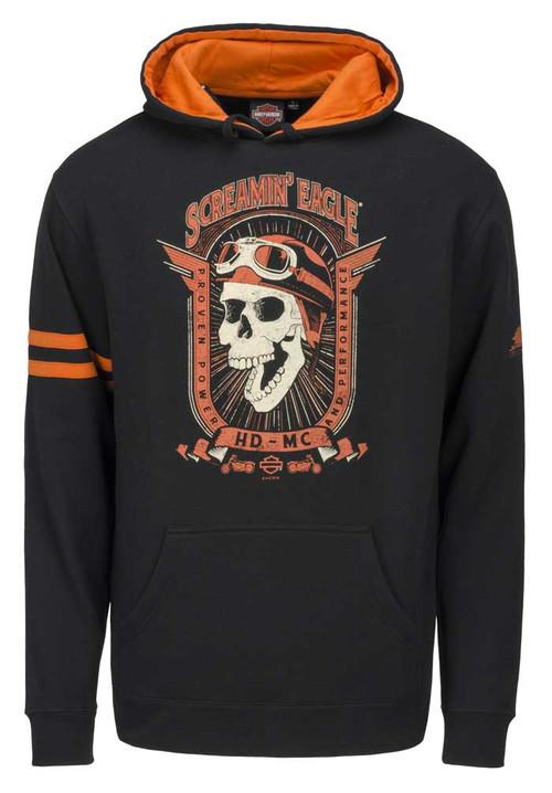 Harley-Davidson Men's Screamin' Eagle Retro Joker Pullover Hoodie HARLMS0080 - Wisconsin Harley-Davidson