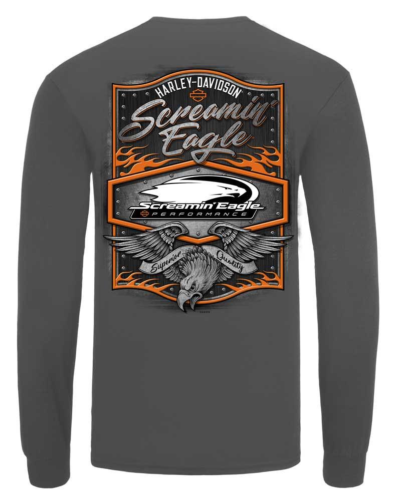 ed626a2b ... Harley-Davidson Mens Screamin' Eagle Rivet Long Sleeve. See 1 more  picture