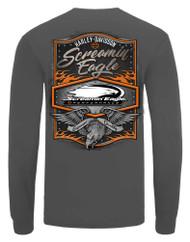 Harley-Davidson Mens Screamin' Eagle Rivet Long Sleeve Shirt, Gray HARLMT0292 - Wisconsin Harley-Davidson