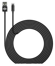 Harley-Davidson Venture Series - 3 ft. B&S Lightning Cable - Black 09531 - Wisconsin Harley-Davidson