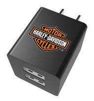Harley-Davidson Venture Series - Bar & Shield Wall Adapter, Black 09542 - Wisconsin Harley-Davidson
