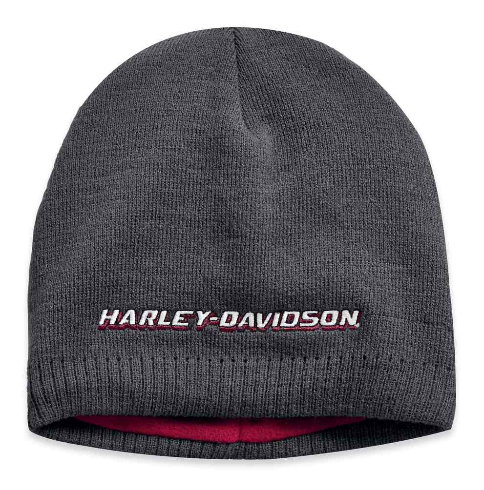 65e435f1071 Harley-Davidson® Men s Embroidered Fleece Lined Knit Beanie Hat
