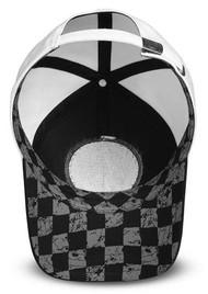 Harley-Davidson Women's Race Patch Baseball Cap - Black & White 97655-18VW - Wisconsin Harley-Davidson