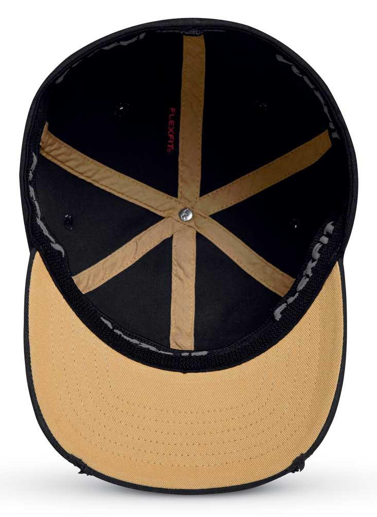 06709e75f09 Harley-Davidson® Men s Vintage Patch Stretch Baseball Cap - Black ...